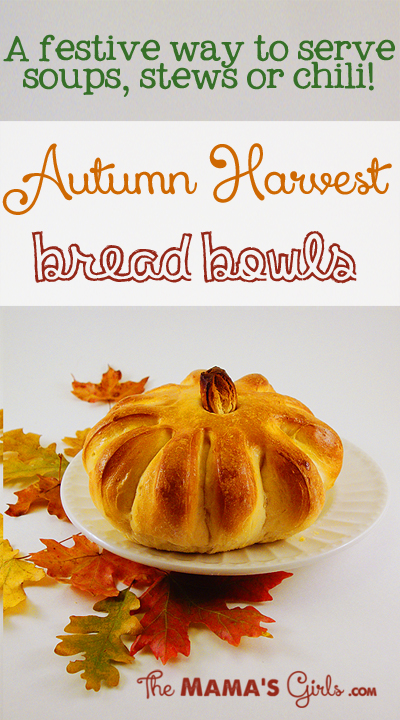 Autumn Harvest Bread Bowls