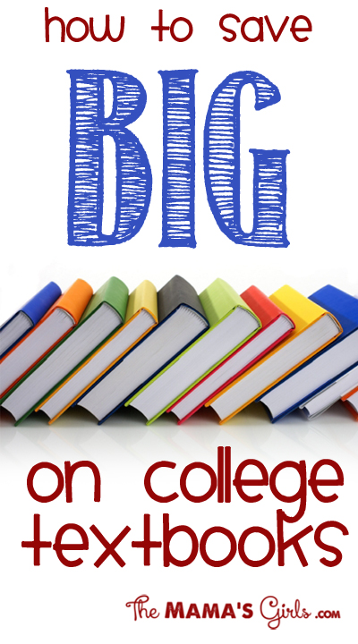 Save BIG On Your College Textbooks