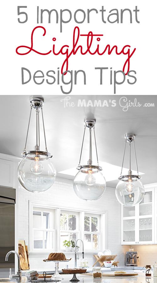 5 Important Lighting Design Tips