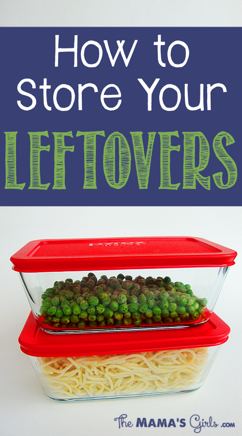 How to Store Your Leftovers
