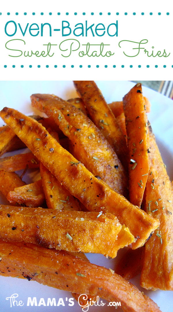 Oven-Baked Sweet Potato Fries