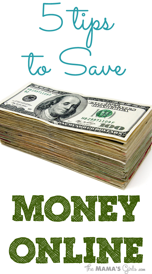 5 Tips to Save you Money Online