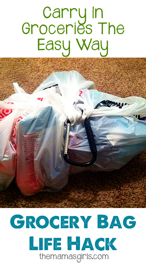Carry In Groceries The Easy Way – Grocery Bag Life Hack