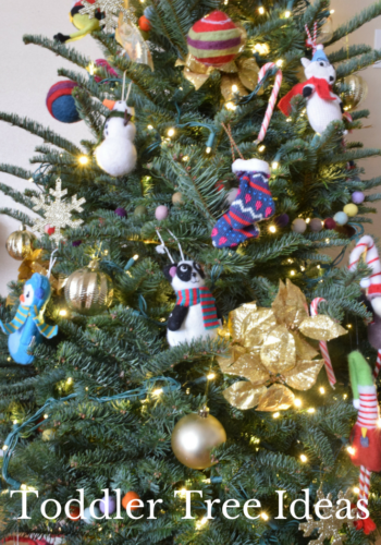 Toddler and Kid-Friendly Christmas Tree