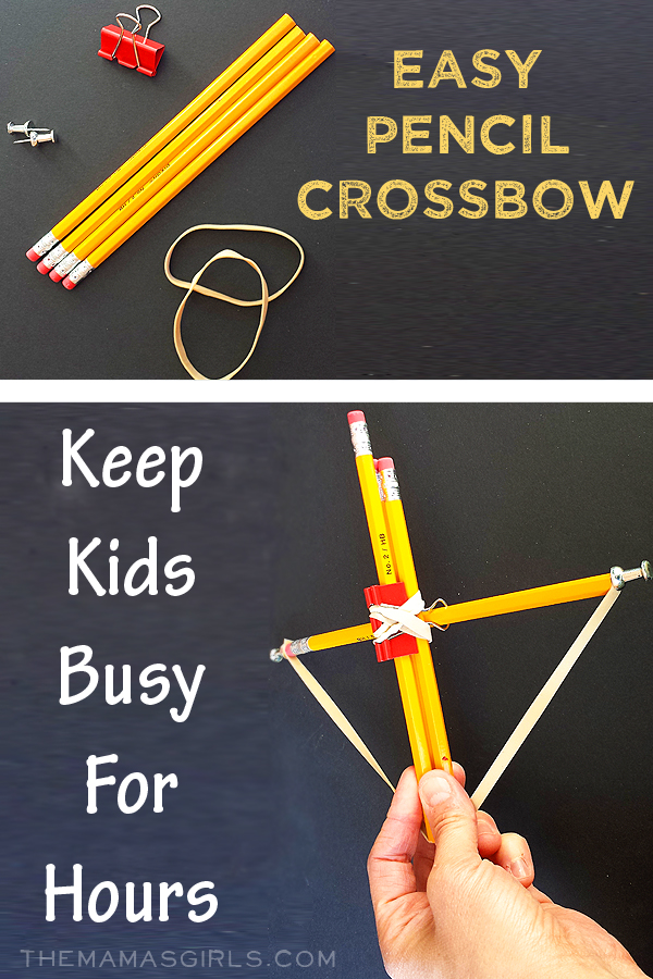 Easy Pencil Crossbow
