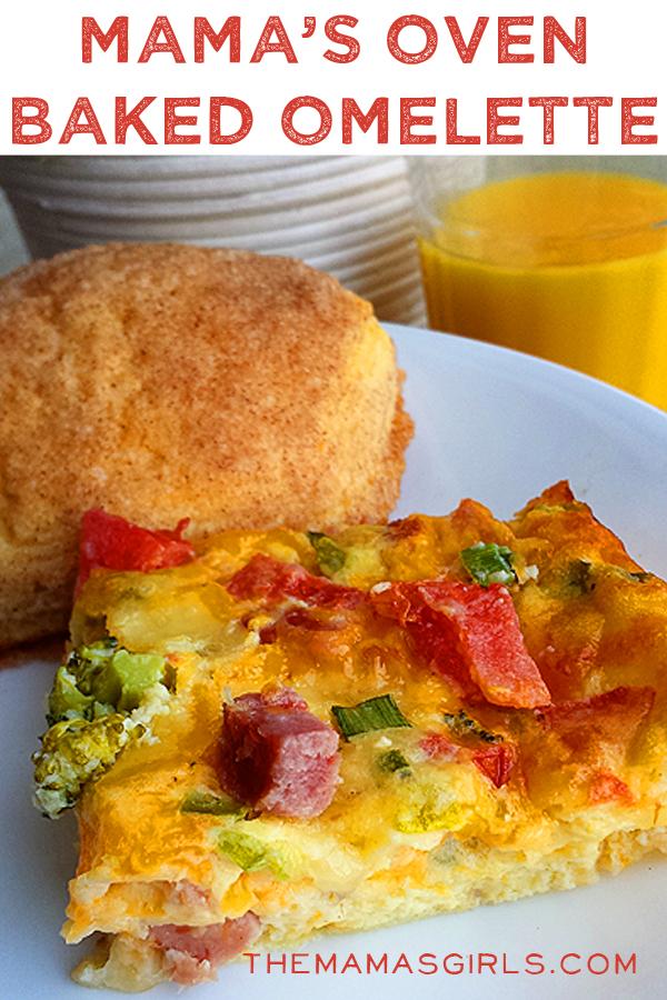 Mama's Oven Baked Omelette