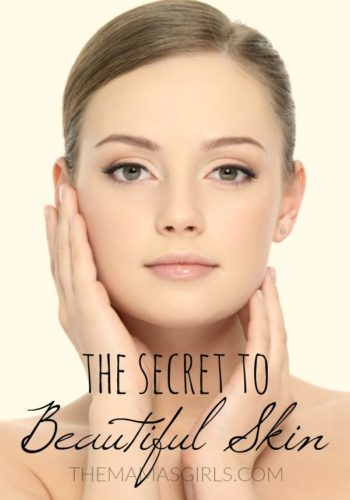 The Secret to Beautiful Skin