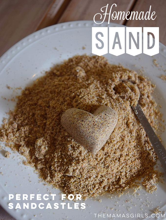 Homemade Sand – It's Edible Too!