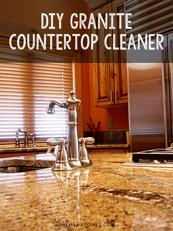 DIY Granite Countertop Cleaner