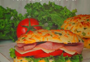 Onion Cheese Rolls for Deli Sandwiches