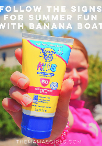 Follow the Signs For Summer Fun With Banana Boat