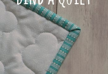The Easy Way to Bind a Quilt – Tutorial