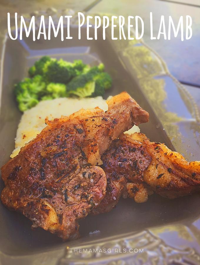 Umami Peppered Lamb