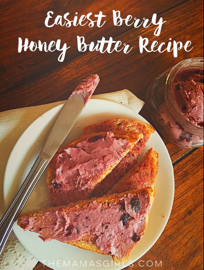 Easiest Berry Honey Butter Recipe