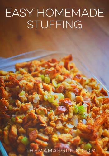 Easy Homemade Stuffing