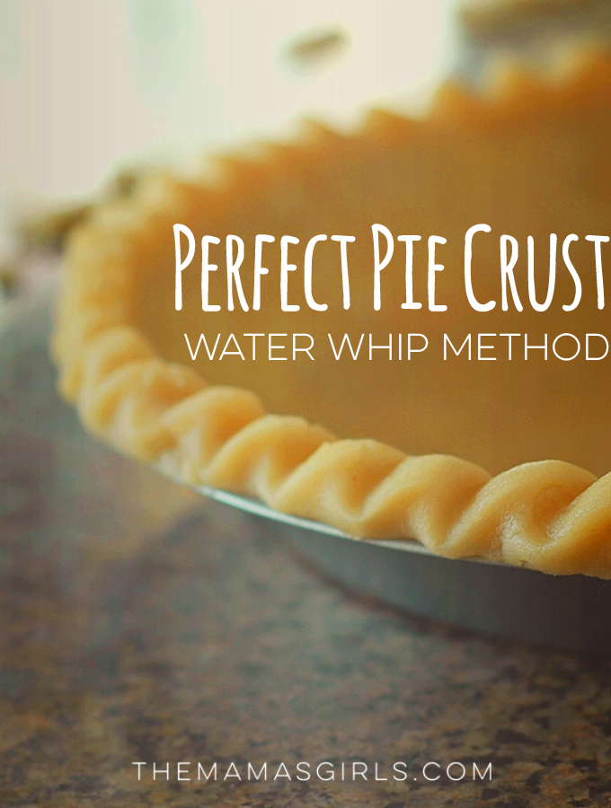 Perfect Pie Crust – Water Whip Method