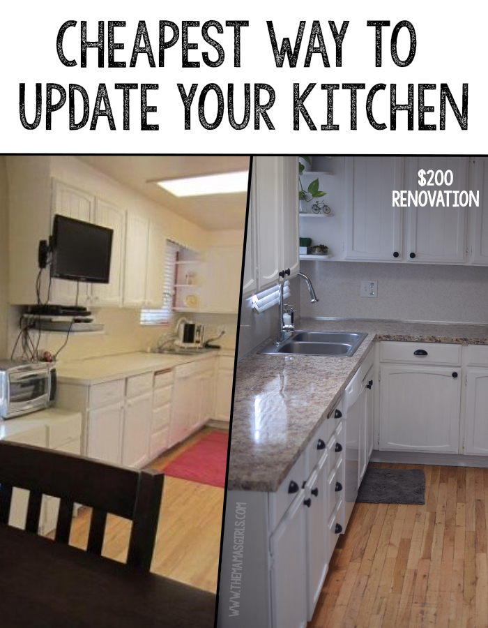 Cheapest Way To Update A Kitchen