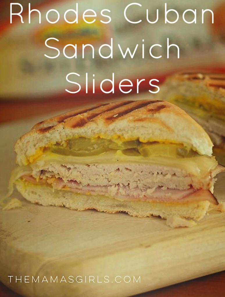 Rhodes Cuban Sandwich Sliders