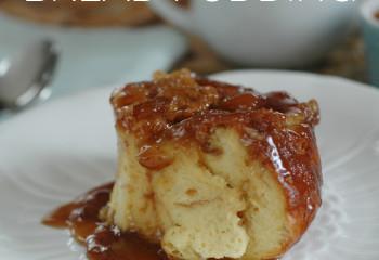 Rhodes Crème Brulee Bread Pudding