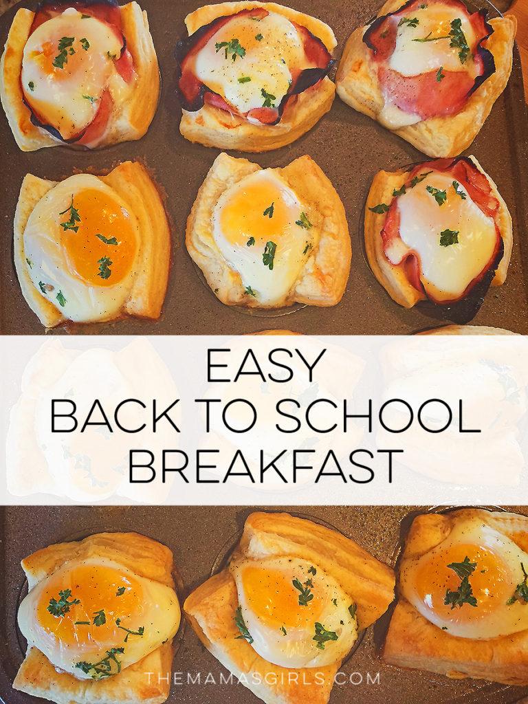Easy Back to School Breakfast