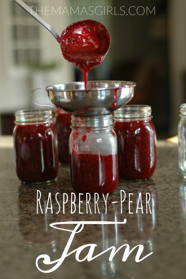 Raspberry-Pear Jam