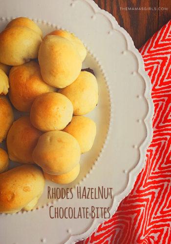 Rhodes Hazelnut Chocolate Bites