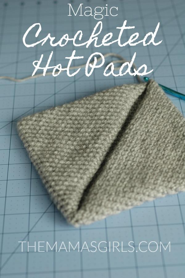 Easy Magic Crocheted Hot Pads