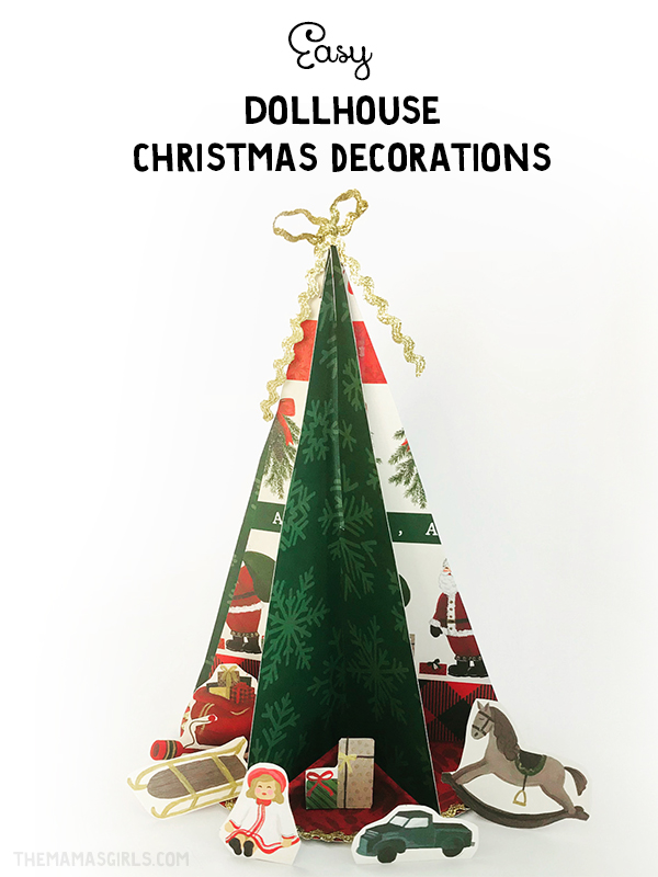 diy dollhouse christmas decor - Dollhouse Christmas Decorations