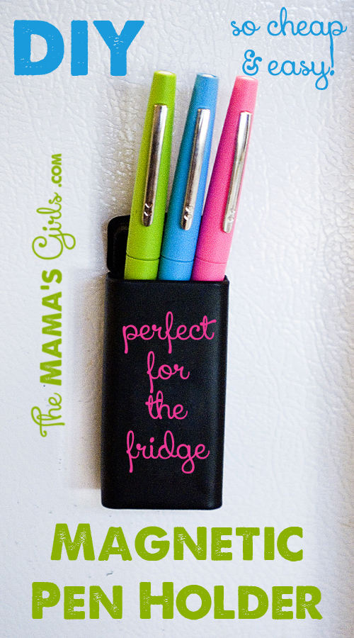 diy Magnetic Pen Holder