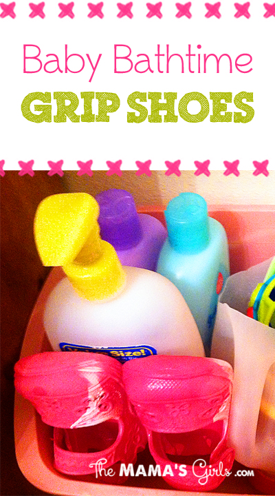Baby Bathtime Grip Shoes
