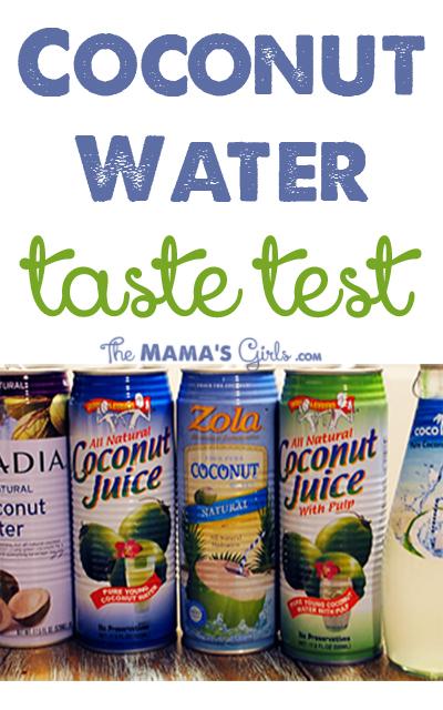 Which Coconut Water Is Best? Taste Test