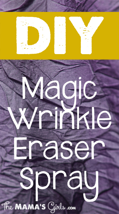 Magic Wrinkle Eraser Spray with Fabric Softener