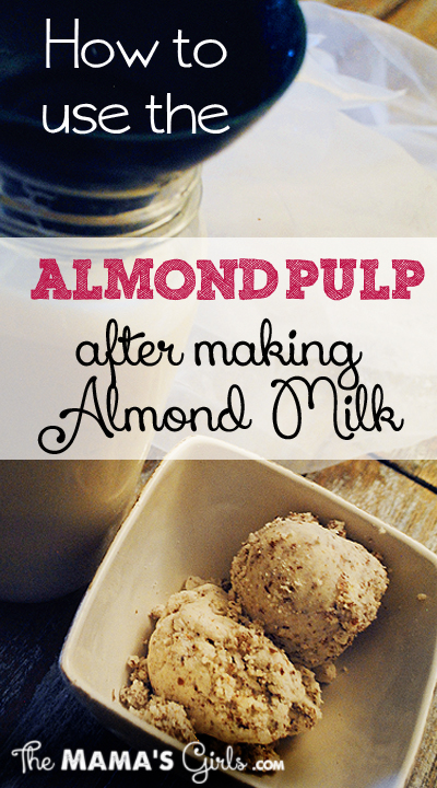 8 Ideas for the Leftover Almond Pulp From Making Almond Milk