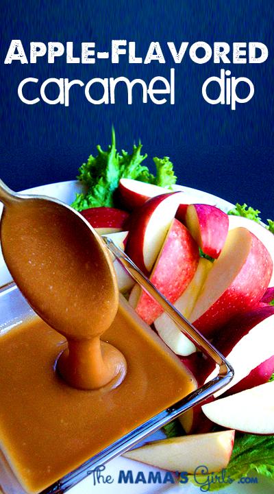 Apple-Flavored Caramel Dip