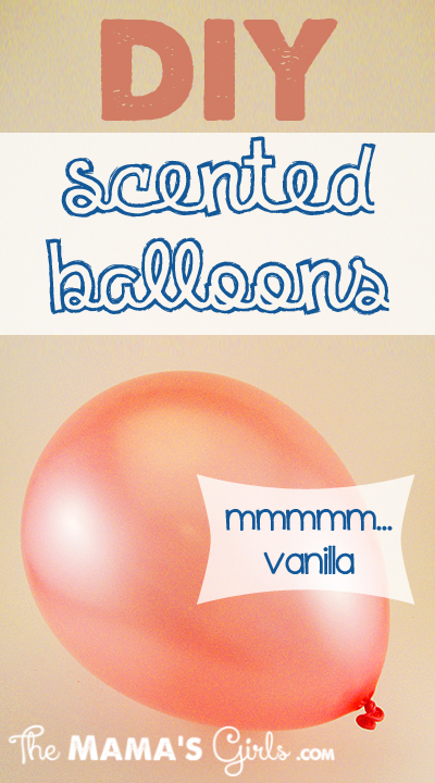 DIY Scented Balloons