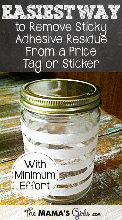 The Best Way to Get the Sticky Adhesive Residue From a Price Tag or Sticker Off With Minimum Effort