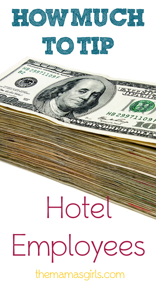 How Much to Tip Hotel Employees