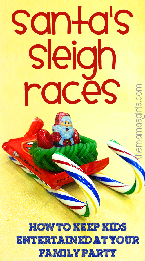 DIY Santa Sleighs for Racing