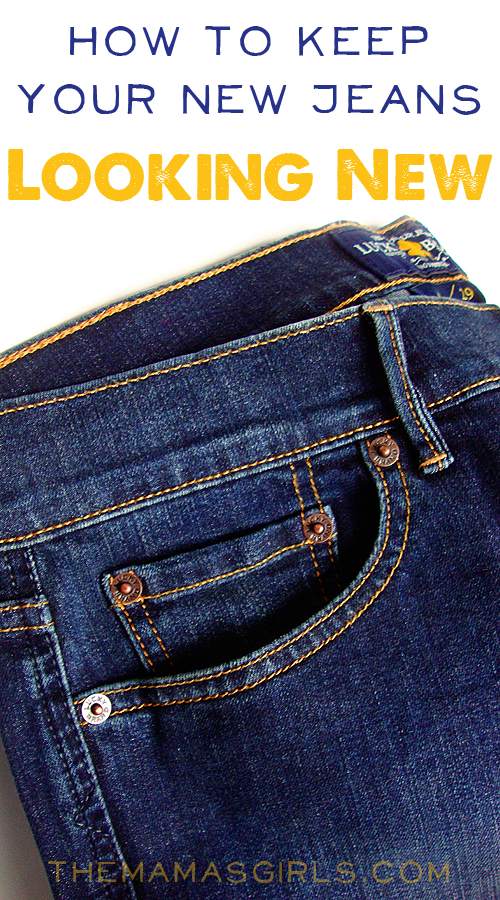 How to Keep Your New Jeans Looking New