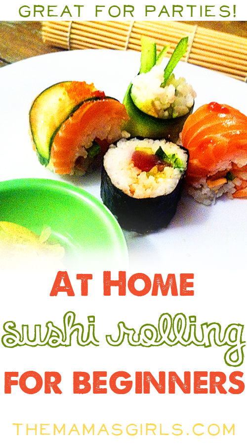 How To Roll Your Own Sushi At Home
