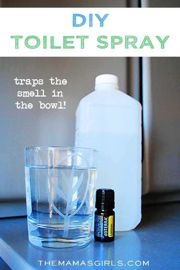 DIY Toilet Spray