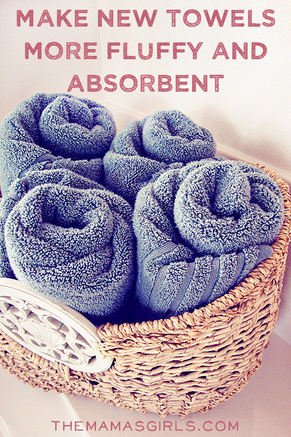 Make New Towels More Fluffy & Absorbent