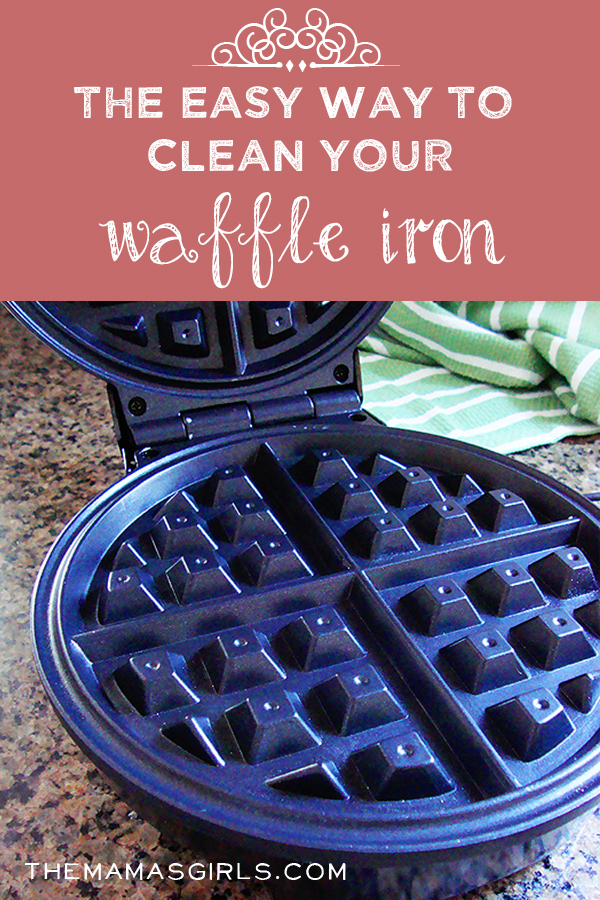 The Easy Way to Clean Your Waffle Iron