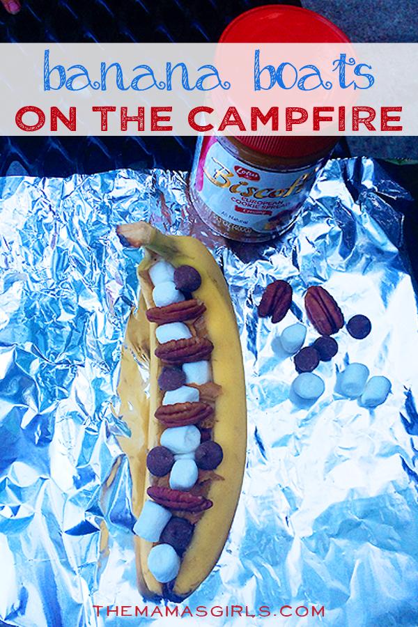 Banana Boats On The Campfire