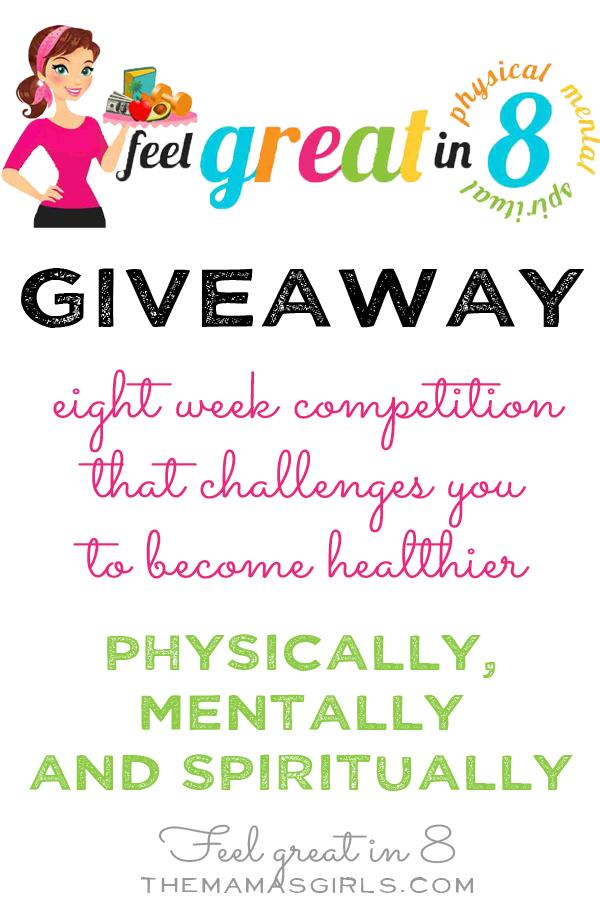 Feel Great in 8 Giveaway
