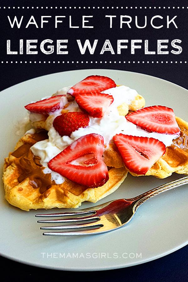 Waffle Truck Liege Waffles