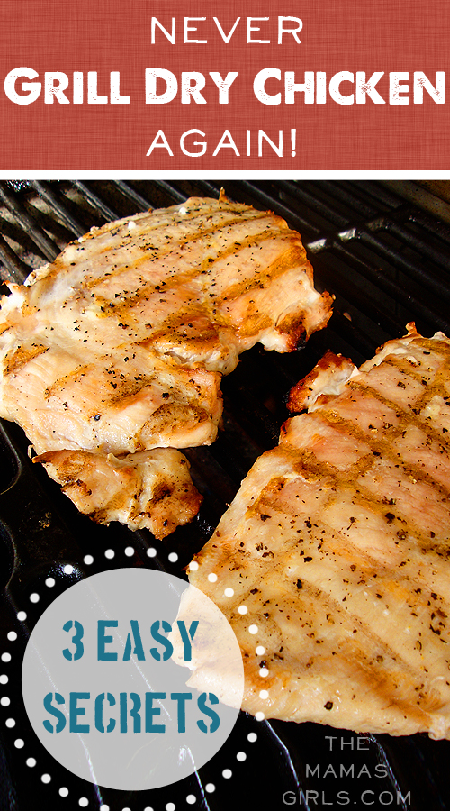 3 Steps Never Grill Dry Chicken Again!
