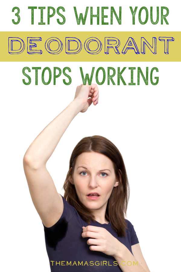 3 Tips for When Your Deodorant or Antiperspirant Stops Working