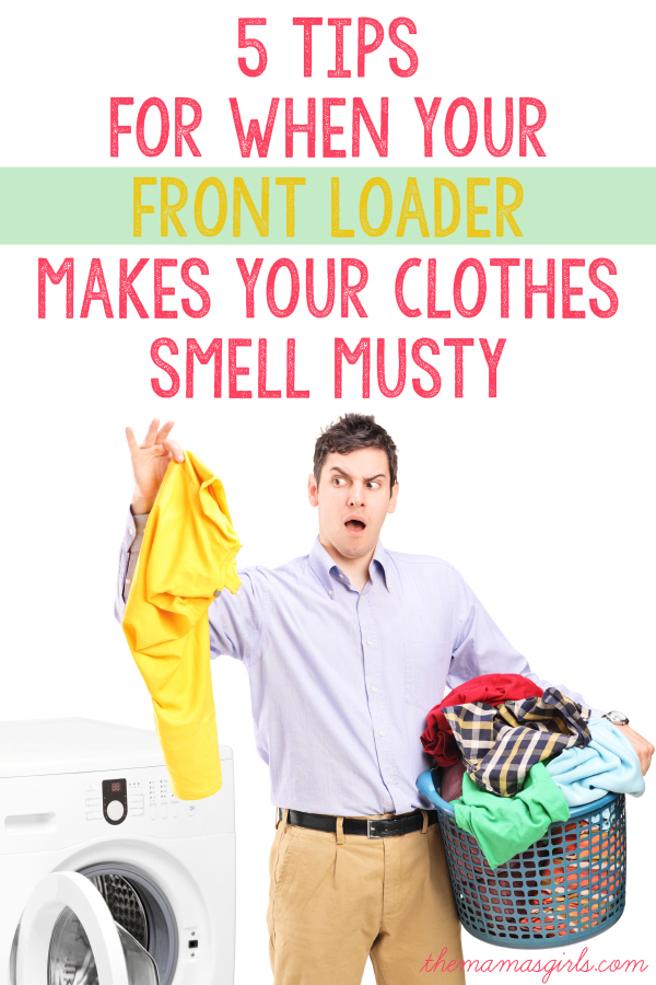 5 Tips For When Your Front Loader Makes Your Clothes Smell Musty