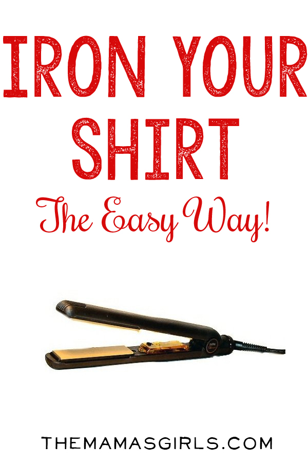 How to Iron a Shirt With A Flat Iron